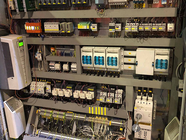 faulty electrical control system